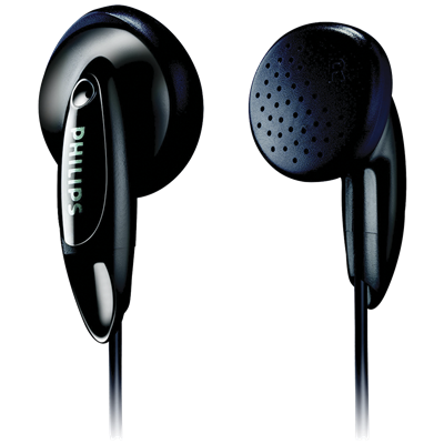 AURICULARES PHILIPS SHE1350 NEGRO