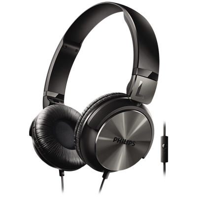 AURICULARES PHILIPS SHL3165BK/00 NEGROS