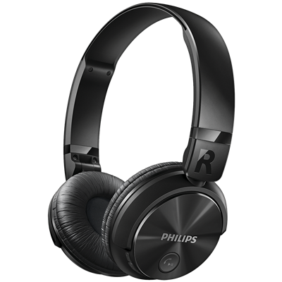 AURICULARES PHILIPS SHB3060BK/00 NEGRO