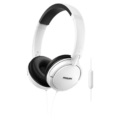 AURICULAR PHILIPS SHL5005WT COLOER BLANCO CON CABLE