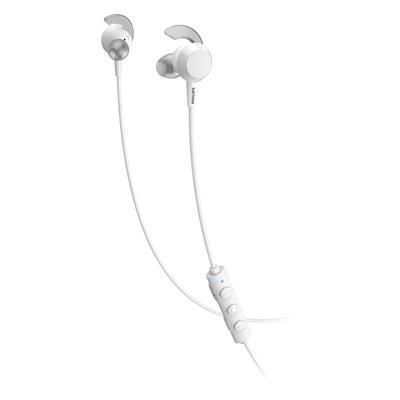 AURICULAR IN EAR PHILIPS BLUETOOTH TAE4205WT BLANCO.CON CABLE.