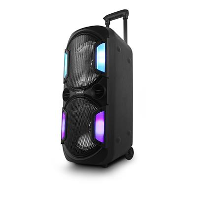 PARLANTE PORTATIL CROWN MUSTANG NUKE CON BLUETOOTH Y 16000 WATTS