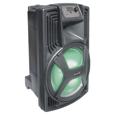 BAFLE KIOTO S-12BL 1200 WATTS USB