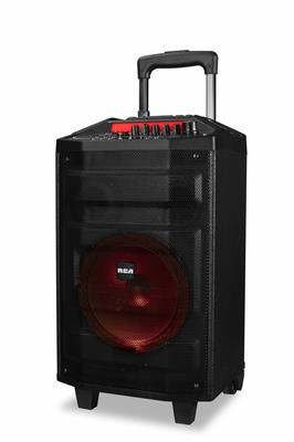 PARLANTE PORTATIL RCA MODELO CARRY ON PARTY CON WOOFER DE 8""