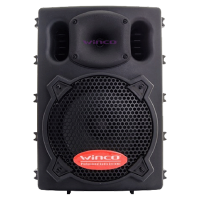 "BAFLE WINCO W208USB BLUETOOTH 8"" 150 WATTS RMS"