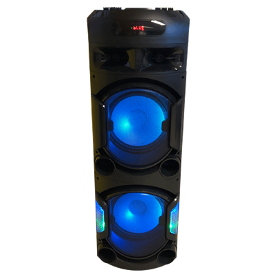 BAFLE WINS W4204 CON BLUETOOTH 3200 WATTS PMPO Y BATERIA
