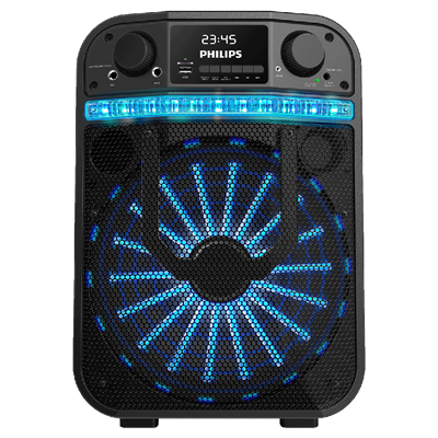 PARLANTE PORTATIL PHILIPS TANX 20 CON BLUETOOTH Y 40 WATTS RMS