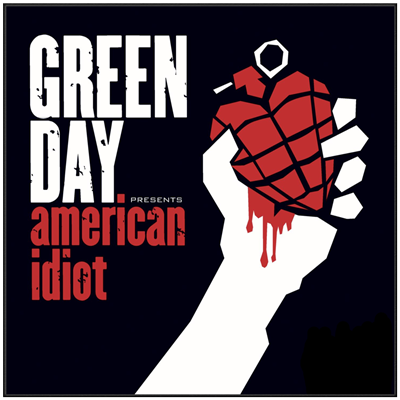 VINILO GREEN DAY AMERICAN IDIOT