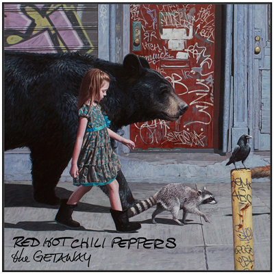 VINILO RED HOT CHILI PEPPERS THE GETAWAY