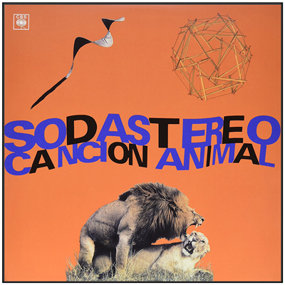 VINILO SODA STEREO CANCION ANIMAL