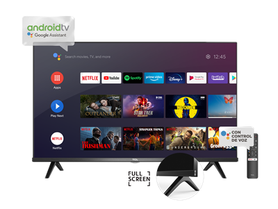 SMART TV TCL MODELO L32S60A CON ANDROID TV