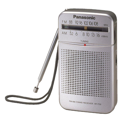 RADIO PANASONIC RF-P50G AM-FM