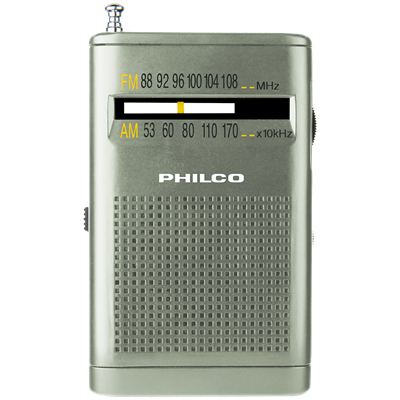 RADIO PHILCO PRC-25 AM-FM PORTATIL