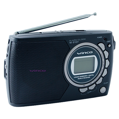 RADIO RELOJ DIGITAL WINCO W3107 FM/AM
