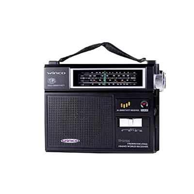 RADIO WINCO DUAL W2004. AM/FM. 4 Bandas.