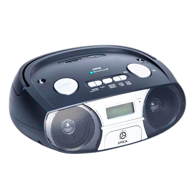RADIO GRABADOR SPICA SP222 BLUETOOTH SD