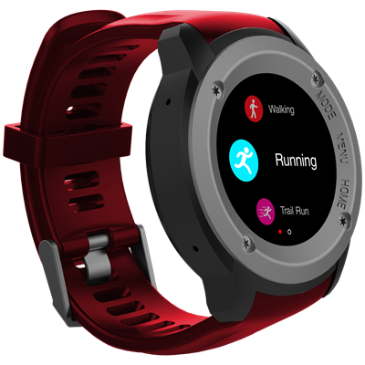 SMARTWATCH MAX-YOU DW28 ROJO
