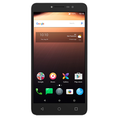 CELULAR LIBRE ALCATEL A3 XL NEGRO/GREY