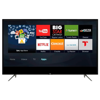 "SMART TV TCL 40"" L40S62 FULL HD NETFLIX O MODELO 6500."