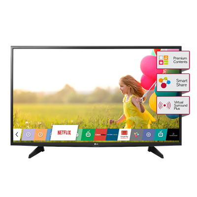 "SMART TV LG 43"" FULL HD 43LH5700"