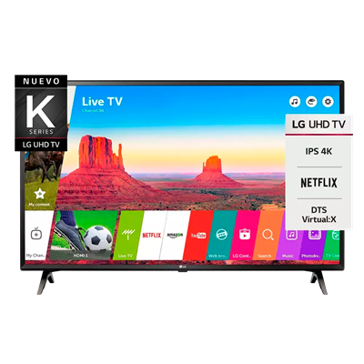 "SMART TV LG 43"" UK6300 4K"