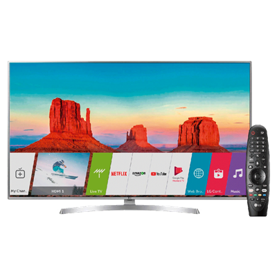 "SMART TV LG 50"" 4K UHD UH6550."