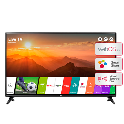 "SMART TV LG 49"" FULL HD 49LJ5500-5700"