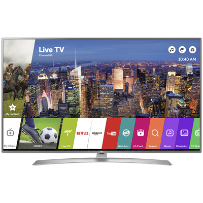 "SMART TV LG 55"" 4K UHD UJ6580"