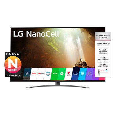 "SMART TV L-G 55NAN081 DE 55"" 4K HDR MAGIC REMOTE"