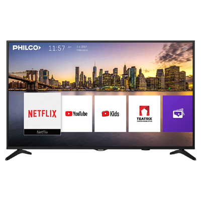 "SMART TV PHILCO 91LD50US9A1 DE 50"" 4K"