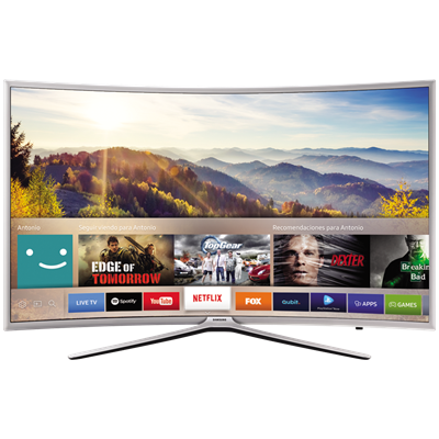 "SMART TV SAMSUNG 55"" FULL HD K6500"