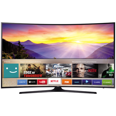 "SMART TV SAMSUNG 65"" 4K UHD KU6300"