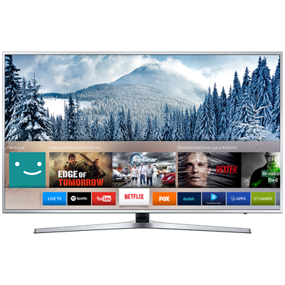 "SMART TV SAMSUNG 49"" 4K UHD KU6400"