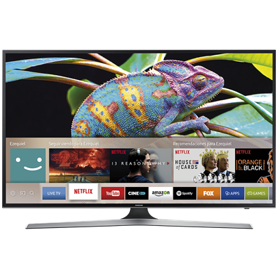 "SMART TV SAMSUNG 65"" 4K UHD MU6100"