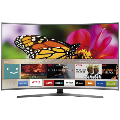 "SMART TV SAMSUNG 65"" 4K UHD MU6500"