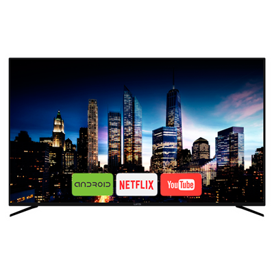 "SMART TV WINS 75"" 4k UHD ANDROID"