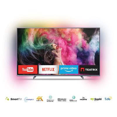 "SMART TV PHILIPS 65"" 4K UHD 65PUG6412/77-6703-6794."