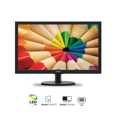 "MONITOR PHILIPS 19"" ( 18.5"") HD 193V5LHSB2"
