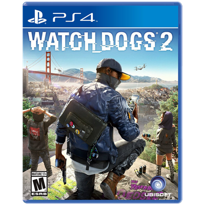 JUEGO PS4 SONY WATCH DOGS 2