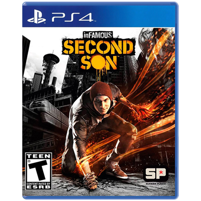 Juego Ps4 Sony Infamous: Second Son
