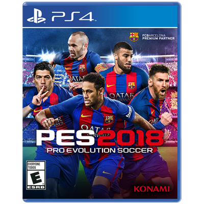 JUEGO PS4 SONY PRO EVOLUTION SOCCER 2018