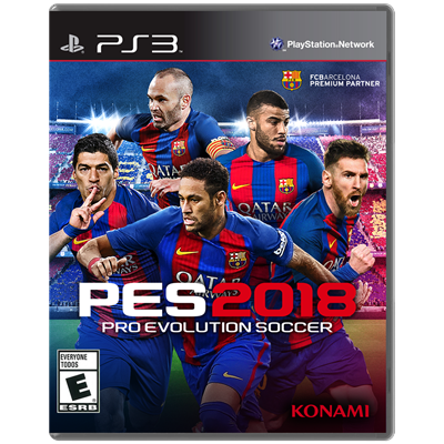 JUEGO PS3 SONY PRO EVOLUTION SOCCER 2018