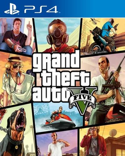 JUEGO SONY GTA V PS4 AUTOS