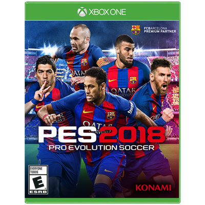 JUEGO XBOX ONE PRO EVOLUTION SOCCER 2018