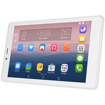 "TABLET ALCATEL PIXI 4 7"" BLANCA"