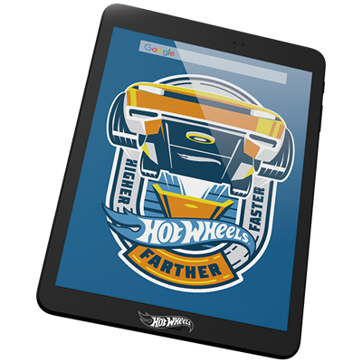 TABLET MATTEL HOT WHEELS 7""