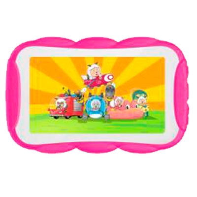"TABLET UNNIC UCTK02 KIDS 7"" ROSA CON FUNDA"