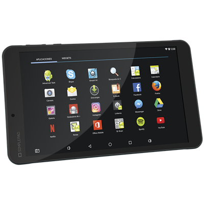 TABLET X-VIEW PROTON SIMPLEPAD 8""