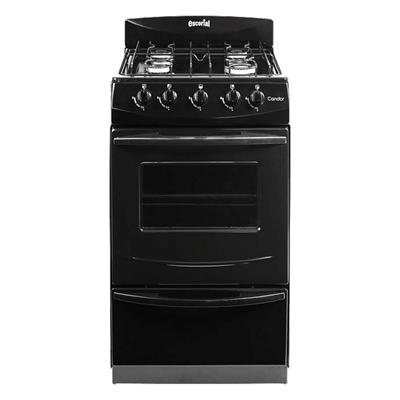 COCINA ESCORIAL CANDOR S2 GAS NATURAL LINEA BLACK