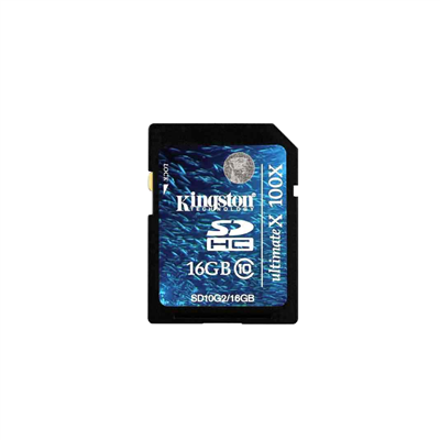 MEMORIA SD DE 16Gb KINGSTON CLASE 10. 16Gb